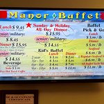 Try Manor buffet which is half a mile up Lincoln Highway. Fabulous spread and decent quality foo