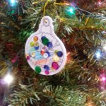 My sons decorated ornament