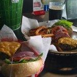 Great Cheeseburgers and dark beer!
