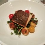 Pan Seared Salmon with Homemade Gnocchi