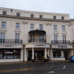 Front of house - handy for the co-op and disabled parking