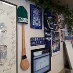 Hockey all over the walls