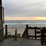 Cannon Beach is just food steps away...