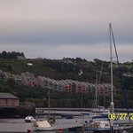 Real estate in Kinsale can be expensive. These colorful condos have fantastic views of the harbo