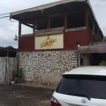 Best jerk chicken and fish. The sides are delicious, the place is always packed but several tabl