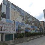 Die Zufahrt zum Hotel Vila Galé Porto