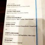 Reve illon menu at Rue 127