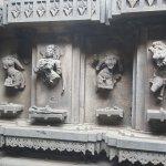 Destroyed carving