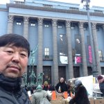 Happy to have photo with nice place