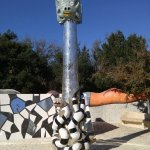 Pictures of the Niki St Phalle Sculpture Garden in the Kit Carson Park, Escondido, California