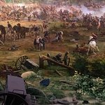 Section of the Cyclorama......