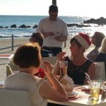 Our guests are enjoying the marvelous Christmas lunch