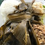 Lau Lau/Kailua Pig w/mac salad, & rice