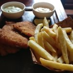 fish & chips --- its fresh and tasty