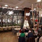 The adjoining Italian restaurant