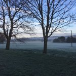 Chilly morning views on my dog walk :)