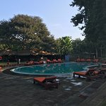 nice place, chill and relax with the river. big tree,nice food, bedroom and helpful staff. sunse