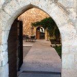The main entrance into the Parador.