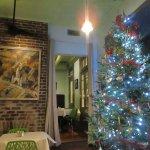Interior at Christmas
