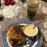 Olive Branch Reuben and Salmon Chowder