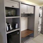 Built in Storage area