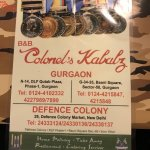 Defence Colony, the original restaurant