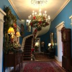 Entry hall of Antrim 1844 Country House.