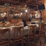 Niki's in Greektown - nice ambiance and variety of seating options!