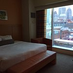 King room on 8th floor of Greektown Casino Hotel
