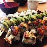 Three different rolls