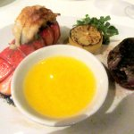 Lobster Tail and Filet, Morton's, San Jose, Ca
