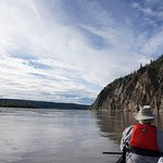 Floating down the Yukon River