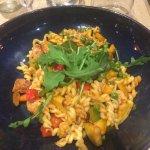 pasta met verse groentjes