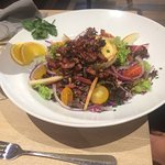 salade met spek