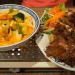Tofu und Ente