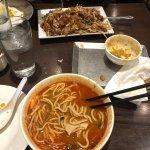 Prawn Mee soup