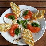 Caprese salad - was delicious