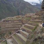 andenes o terrazas donde realizaban sus cultivos