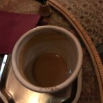 Chai chai chai so good it was almost gone before I could get a picture. Got it with soy and hone