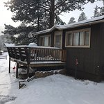 Cabin that we stayed in December 2017