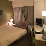 Double room, bigger than normal single room