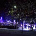 FairmontHS Christmas lights