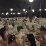 Dinner en blanc (everyone is dressed in white) on the lawn...Gorgeous