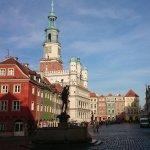 Rathaus Poznan  Foto