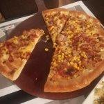 Pizza with Philadephia