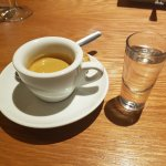 Espresso and Grappa, only way to finish