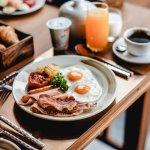 breakfast in villa from new Moonlight Grand Pool Villa