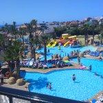 Panorámica piscina y Aqua-baby