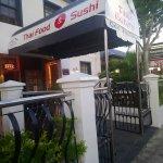 Entrance to Thai Eatery