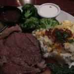 Prime Rib and Mashed Potatoes